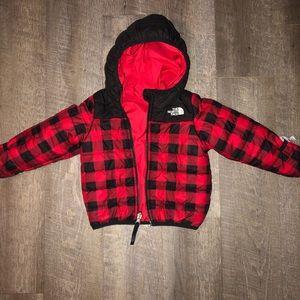 Infant/toddler reversible North face jacket